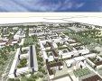 קריית המודיעין בנגב. הדמיה: נעמה מליס, אדריכלות ובינוי ערים