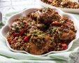 תבשיל עוף עם עדשים בסגנון גלילי. צילום: יחצ מאסטר שף