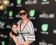 אופירה אסייג והבת אמילי בהשקת קולנוע מובילנד פולג. צילום: רפי דלויה